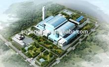 City garbage incinerator electricity generator