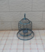 wrought iron handicraft round antique manufacture cage birds,antique hanging bird cages,small bird cages for decoration