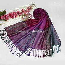 Popular stole coloful pattern personalized warm scarf shawl TSV-036