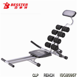 JS-006E SPIN BLACK POWER home gym ab exercise equipment