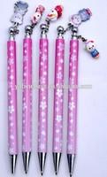 2014 High Quality Customize Clip Pendant Ball Pen