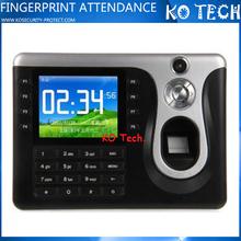 KO-C101 Fingerprint scanner time clock calculator attendance management system