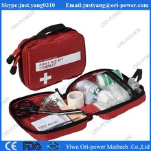 CE FDA ISO approved manufacture price outdoor sport nylon emergency bag wholesale military first aid kit bag