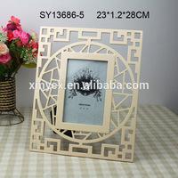 Polyresin embellished photo frame