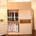 Guarda-roupa de madeira mobília do quarto clássico