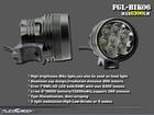 rechargeable 13200mah 18650 7 led Cree XML u2 bike lamp