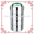 China de la buena calidad de acero inoxidable Bento box, Caja de almuerzo, Caja de Tiffin