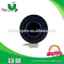 de cuero cubierto de ventilación del sistema hidropónico eléctrico del ventilador en línea