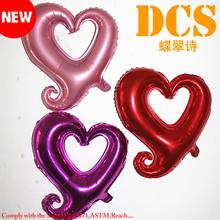 [Free Sample] wholsale New design hot selling heart foil balloon