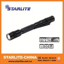 Latest hot highlight cheap ballpoint plastic pen light led