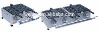 Gas Korean Fish Cake Maker / Professional Waffles Machine