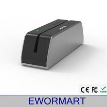 Mini portable magnetic stripe card reader and writer MSRX6 & comp MSR606 software