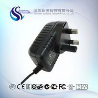 5V 2A uk plug ac dc adapter for android tablet pc