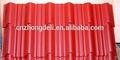 La hoja de techo corrugado galvalume/hojas de acero galvanizado( fábrica)