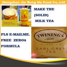 Solid milk tea