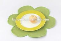 Decorative pp placemat/flower tablemat/sunflower