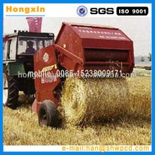 round tractor hay crop/grass/wheat straw bundling machine/round hay baler