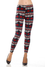 Wholesale 2014 Fashion new arrival hot ladies girls women 100% cotton snowflake reindeer tattoo thick winter knited leggings