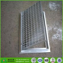 galvanized concrete floor drain steel grating floor