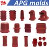China10KV-35KV silicone rubber insulator epoxy resin injection APG molding machine