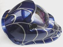 Quality assurance auto darken solar powered welding helmet
