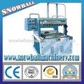 Semi- automatico de salida de baja helado laminado en los conos de azúcar para hornear de la máquina/cono que hace la máquina