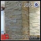 natural stone panel build slate wall
