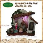 Wholesale nativity scene ornaments,holy church model christmas decoration