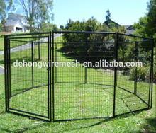 Heavy Duty Metal Dog Run Kennel/Dog Run Fence Panel /Portable Dog Run Kennel