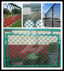 hot sale!1Stainless steel chain link fence panel/decorative chain link fence (15 years factory)