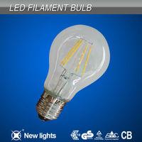 420lm E27 4W COB LED Bulb Filament Light with Glass Cover