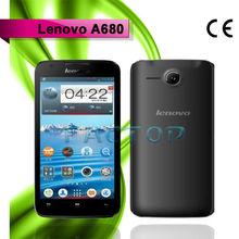 Lenovo Smartphone A680 Multi-language Google Play Store Original 5inch MTK6582 Quad Core Android 4.2