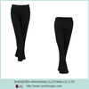 Wholesale Eco-friendly Bamboo Cotton Fitted Black Sports Yoga Pants For Women