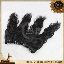 Wholesale natural brazilian 100% virgin human hair weaving alibaba cn
