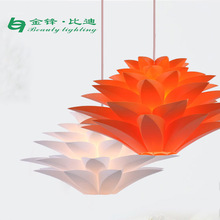 Crystal Decorative Hanging Pendent Lamp with high quality/High quality European plating colour metal art LED pendant light C3803