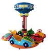 little car kiddie rider/ 4 player kiddie rider