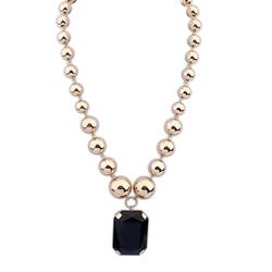 Arabic bridal jewelry sets bulk sale 2014 newest acrylic stone cheap custom made jewelry for boys necklaces PN1252