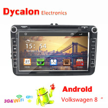 8inch touch screen 2 din android car dvd player VW/Autoradio GPS bluetooth/DVD IPOD TV BT RDS AUTO AC
