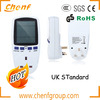 2014 Newest UK 230V 13A Watt Power Energy Voltage Meter Analyzer with High Quality