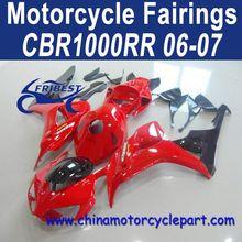 Definitely Durable For Honda CBR1000RR 06 07 Red Fairing Kit ABS Fairing Kit FFKHD020
