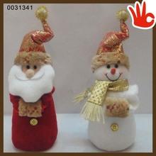 High quality christmas gift dolls father christmas dolls christmas tree decoration(wool doll)