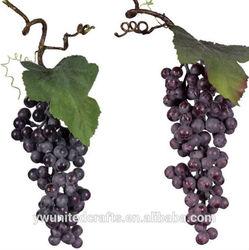 Artificial Blue Purple Grape Bunches Clusters Fruit