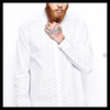 2014 Hot sale white color free style free size polyester polo shirt