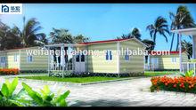 Small size garden villa and mini mobile home anti-rust house