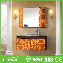 Professional simple beveled animal painted mirror