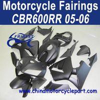 Factory Direct Sales For Honda 2005 cbr600rr fairings All Matt Black FFKHD008