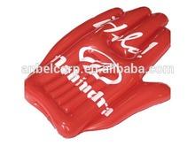 Inflatable baseball glove