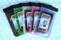 2014 hot sale for Iphone 5 pvc phone waterproof bag case/cell phone waterproof case