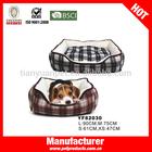 Cute cozy circle pet beds