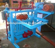 QT4-45 manual coal dust brick making machine